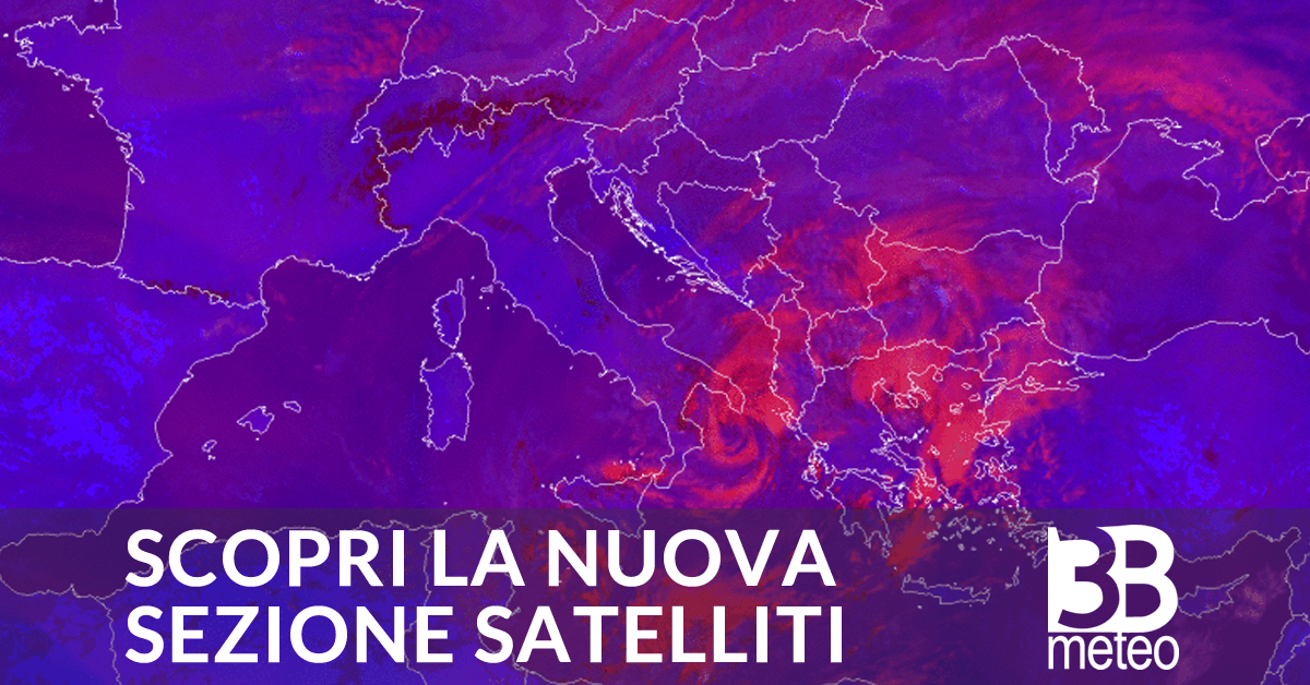 Satellite Meteorologico 3bmeteo Italia E Estero