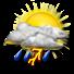 Nubi irregolari con temporali