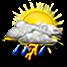 nubi sparse e temporali