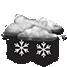 Coperto con neve