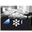 pioggia e neve