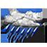rovesci di pioggia