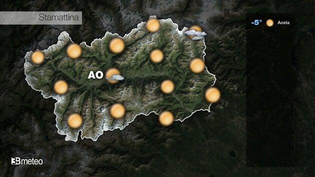 METEO VALLE D AOSTA VIDEO: previsioni AGGIORNATE