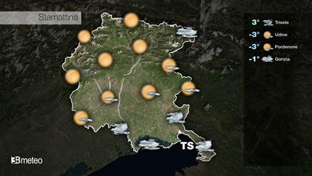 METEO FRIULI VENEZIA GIULIA VIDEO: previsioni AGGIORNATE
