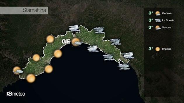 METEO LIGURIA VIDEO: previsioni AGGIORNATE