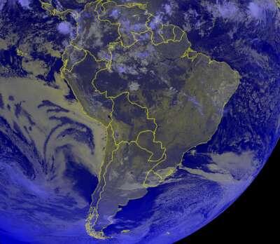 Satellite America Sud