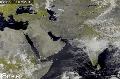 Satellite Asia Centro-meridionale